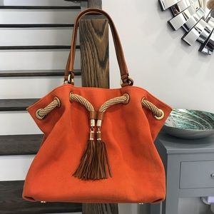 Michael Kors Orange Bag Purse Handbag